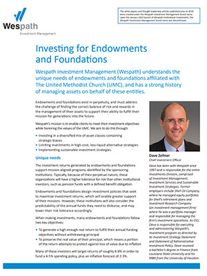 Investing for Endowments and Foundations cover image
