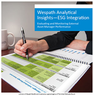 image of the cover of the ESG document