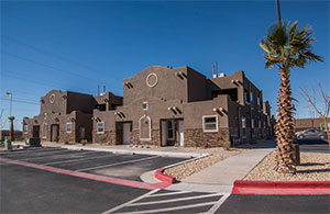 photo of Socorro Palms apartments exterior in Soccoro, Texas